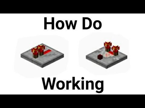 Minecraft PE : How Do Repeater and Comparator Work