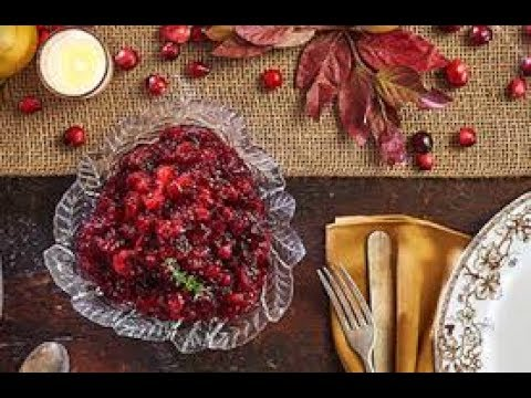 Homemade Quick  dinner and Easy Cranberry Sauce