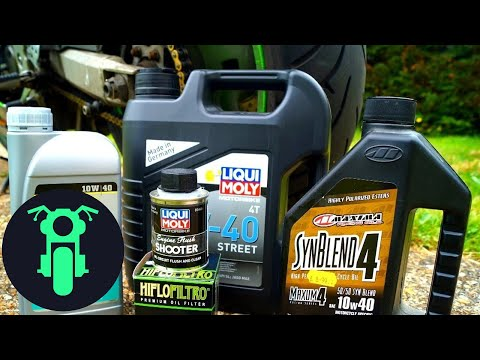 How to Change Motorcycle Oil and Filter (& flush engine)