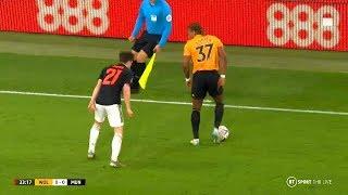 Adama Traoré vs Manchester United (FA Cup) 04/01/2020