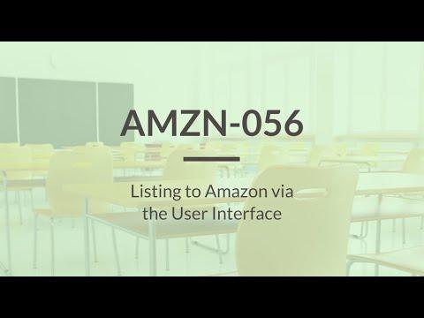 SureDone: Amazon Training (4 of 6) - Single Item Listings