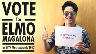 How to Vote for Elmo Magalona on MYX Music Awards 2017!