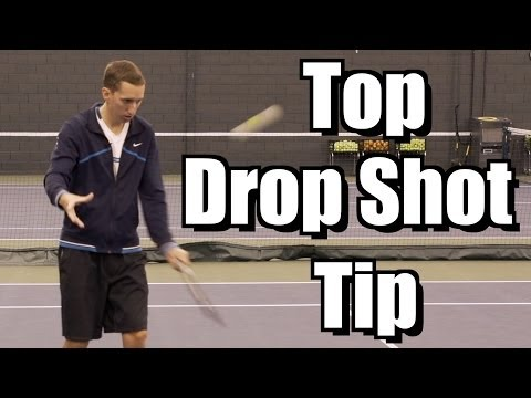 Top Drop Shot Tip - Touch Tennis Lesson - Dropshot Instruction