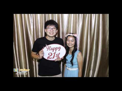 The Best 21st Birthday Gift Ever! - 123Cheese.my Photo Booth