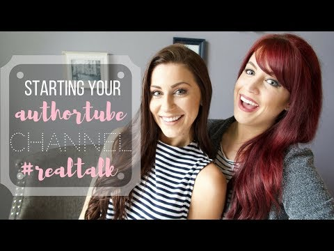Collab w/ ThisIsKaila | Starting an AuthorTube Channel | #realtalk