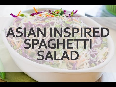 Asian Inspired Spaghetti Salad