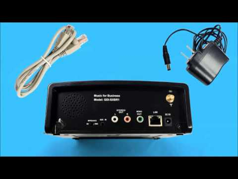 Grace Digital Internet Radio Setup | SiriusXM Radio Music for Business