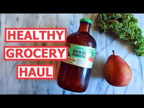 Healthy Grocery HAUL! What a Dietitian Buys at the Store!