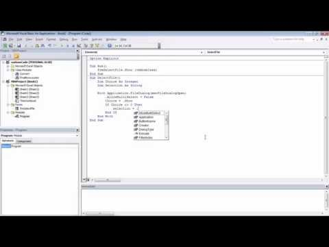 Excel VBA | Use System File Dialog