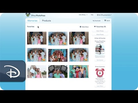 How-To Download Your Photos | Disney's PhotoPass