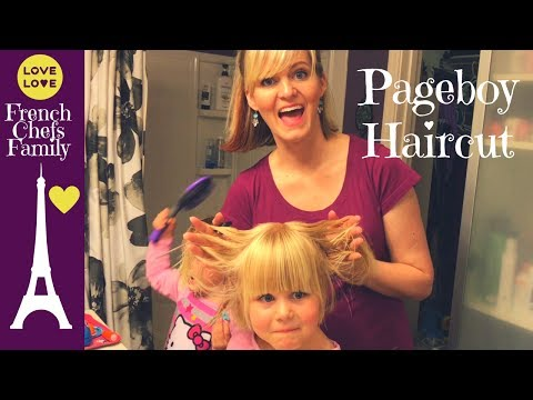 JUJU GETS A BOB HAIRCUT! How to cut your daughter's hair at home | Daily Family Vloggers Ep. 72