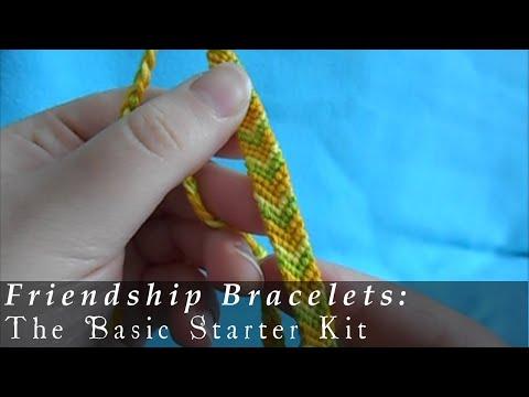 Friendship Bracelets 101: The Basic Starter Kit