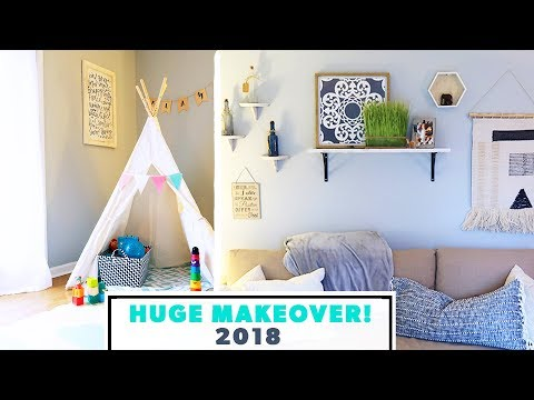 Playroom & Bedroom MAKEOVER REVEAL 2018