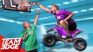 ATV Basketball Game!!