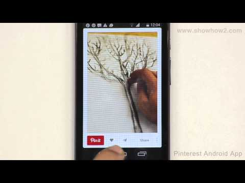 Pinterest Android App - How To Save A Pin To Your Device
