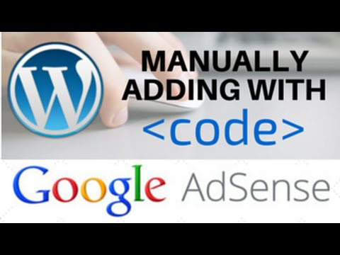 Install AdSense Wordpress with Code in Your Theme