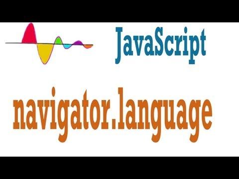 JavaScript Tutorial - Browser language - navigator.language