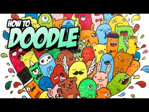 HOW TO DOODLE - Step-by-Step + Tips&Tricks