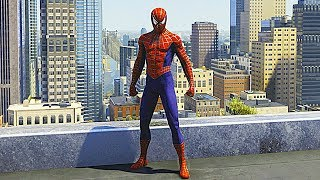 Download SPIDER-MAN PS4 Sam Raimi Suit Free Roam Gameplay (SPIDERMAN PS4 Silver Lining DLC) Video
