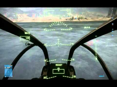 BF3 Helicopter Precision Flying