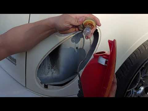 How to change your tail light bulbs or replace your broken tail light on a PT Cruiser and other cars