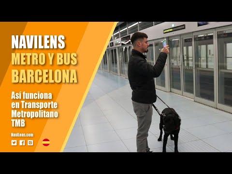 Así funciona NaviLens en el metro y bus de Barcelona Transporte Metropolitanos TMB