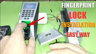 Zkteco F18 Time attendance access control Full installation Part-3