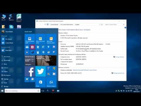 Windows 10 - Creating a System Image of your System Setup