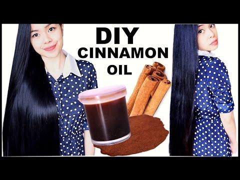 DIY Cinnamon Oil for Hair Growth- Hair Loss-Dandruff & Healthy Scalp- Beautyklove