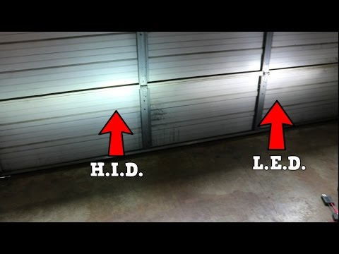 LED vs HID Headlights!!! Which is better? - 2011 Honda Civic Si (FA5) 2018 Civic Type R
