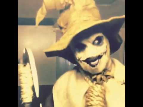 Scary Scarecrow cackling!