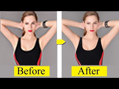 Low to High Quality-Resolution Photo adobe Photoshop cs6 Tutorials