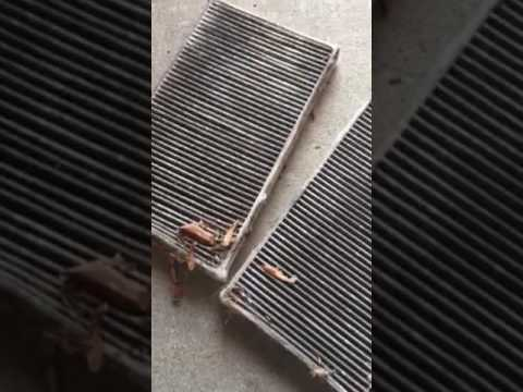 2002 Chevy Silverado in cabin air filter replacement