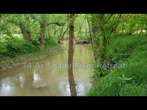 14 ac Shade River Retreat - Waterfront Land For Sale