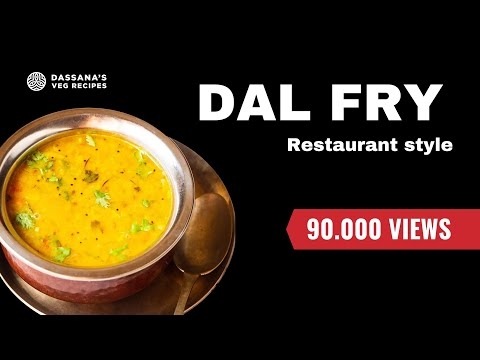 dal fry recipe - how to make restaurant style dal fry recipe