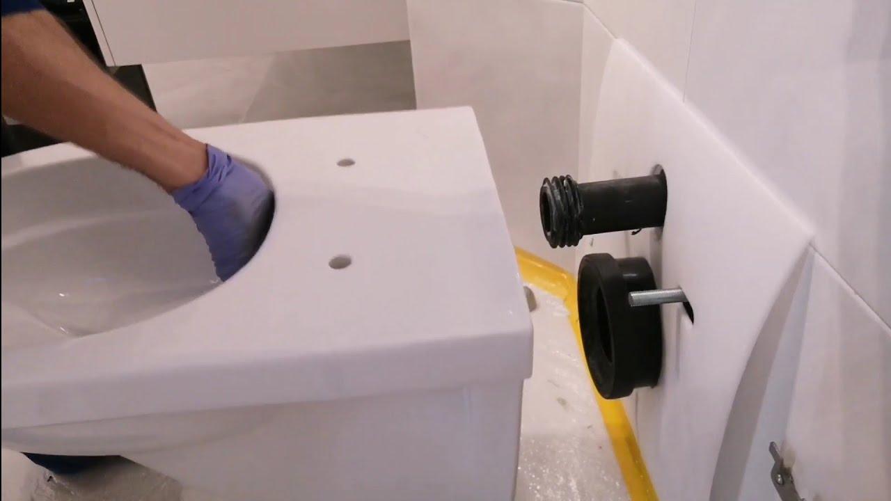 Wie ein WC selber austauschen? /Toilette montieren