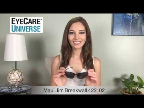 Maui Jim Breakwall 422-02 Video Review