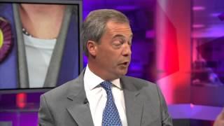 UKIP sharia row: Nigel Farage interviewed