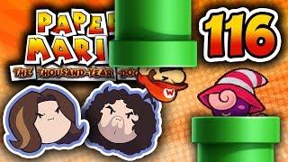 Paper Mario TTYD: Pipes n' Gears - PART 116 - Game Grumps