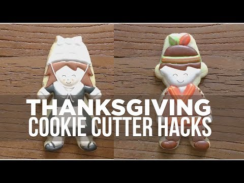 Thanksgiving Cookie Cutter Hacks (with Banana Bakery)