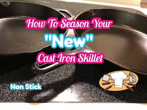 How To Clean and Season Your Cast Iron Skillet