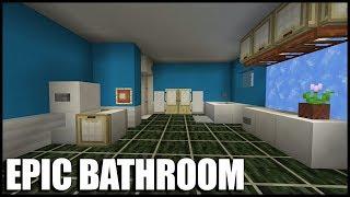 EPIC Minecraft Bathroom Tutorial Aquatic Update 14 113