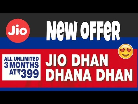 Jio Monsoon Offer || Rs. 399 for 3 Months || Every Jio User Should Watch this