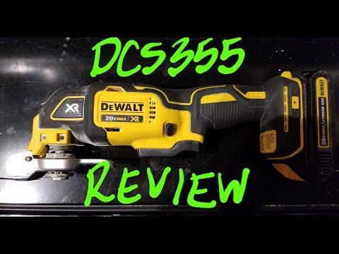 DEWALT DCS355 OSCILLATING TOOL!