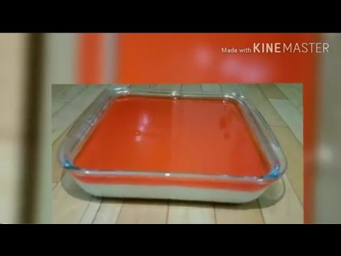 How to make Strawberry Jelly Custard at home.