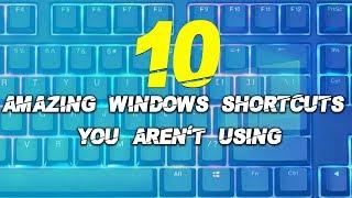 10 Amazing Windows Shortcuts You Aren't Using | Simbly Chumma
