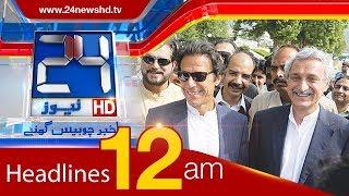 News Headlines | 12:00 AM | 15 December 2017 | 24 News HD