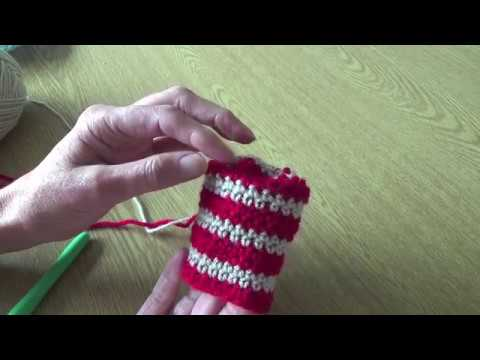 Crochet stripes in rounds without an ugly staggered join