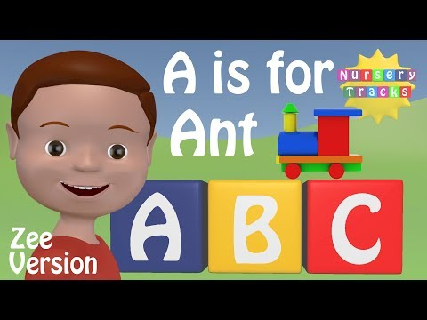 Best ABC Alphabet Song | A is for Ant | ZEE version | New in 3D
