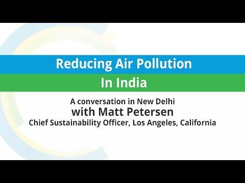 Matt Petersen: Reducing Air Pollution in India